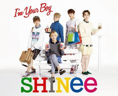 SHINee to release 3rd Japanese album 'I'm Your Boy' + jacket photos