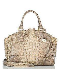 Brahmin- white gator Brahmin Does Not use real Gator Brahmin Handbags, Brahmin Bags, Handbags Michael Kors, Tote Handbags, Leather Handbags, Beautiful Handbags, Beautiful Bags, My Bags, Purses And Bags