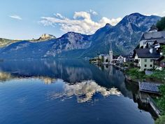 Hallstatt, Seen, Most Beautiful Pictures, In The Heights, Cool Photos, Told You So, River, Mountains, Outdoor