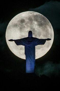 Cristo,la luna,il Brasile! *Meraviglia*