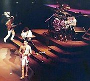 """Mercury wrote 10 of the 17 songs on Queen's Greatest Hits album: """"Bohemian Rhapsody"""", """"Seven Seas of Rhye"""", """"Killer Queen"""", """"Somebody to Love"""", """"Good Old-Fashioned Lover Boy"""", """"We Are the Champions"""", """"Bicycle Race"""", """"Don't Stop Me Now"""", """"Crazy Little Thing Called Love"""" and """"Play the Game""""."""