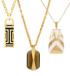 Feeling Groovy: Shop 1970s-Inspired Pendant Necklaces #InStyle