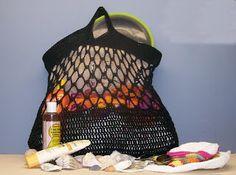 How to Crochet A Mesh Bag   eHow.com