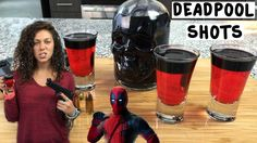 The Black Widow Shot is a great Halloween Party Shot. Regardless of whether you like Halloween Drinks, Shots go down quick and they are out of the way. Bomb Drinks, Fun Drinks, Yummy Drinks, Alcoholic Drinks, Cocktails, Deadpool, Alcohol Recipes, Drink Recipes, Party