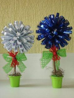 Today I bring you a table arrangement option to decorate a Birthday Party, Baby Shower, Christening or any other event you want! In addition, this Bonbon Candy Topiary, Candy Trees, Chocolate Tree, Chocolate Bouquet, Happy Birthday B, Chocolate Wedding Favors, Sweet Trees, Diy Crafts For Home Decor, Candy Crafts