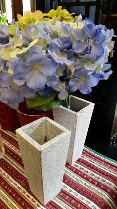 Stunning stone vases, versatile and chic, new in #collingwood #homedecor #flowers #interiordesign #modern #cottage
