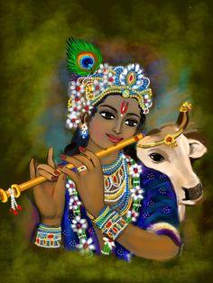 Arte Krishna, Jai Shree Krishna, Radha Krishna Love, Krishna Radha, Yashoda Krishna, Shree Krishna Wallpapers, Radha Krishna Wallpaper, Tanjore Painting, Krishna Painting