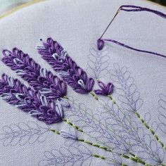 Wonderful Ribbon Embroidery Flowers by Hand Ideas. Enchanting Ribbon Embroidery Flowers by Hand Ideas. Hand Embroidery Stitches, Embroidery Needles, Silk Ribbon Embroidery, Hand Embroidery Designs, Vintage Embroidery, Embroidery Techniques, Cross Stitch Embroidery, Embroidery Ideas, Embroidery Digitizing