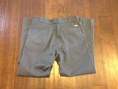 Dickies Mens 874 Original Fit Gray Work Pant Size 34x30 #Dickies #CasualPants