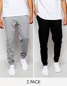 Discover our comfy range of men's joggers at ASOS. Shop a wide selection of  joggers for men from skinny, cuffed to drop crotch or loose styles and  colours.