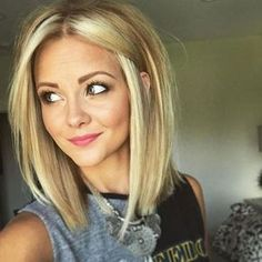 Shoulder Length Haircuts To Show Your Hairstylist ASAP: Blunt Ends