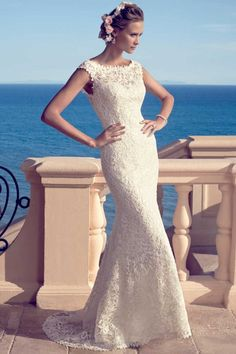Style 2183 by Casablanca Bridal is a dress we have to try on at our store.