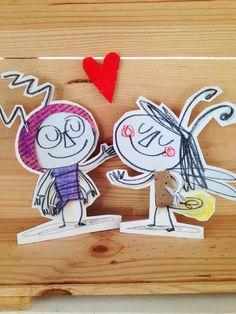 """LOLO y RITA son los protagonistas de """"TE QUIERO (casi siempre)"""". Una deliciosa historia de amor para todas las edades (incluso para niños). De Anna Llenas"""