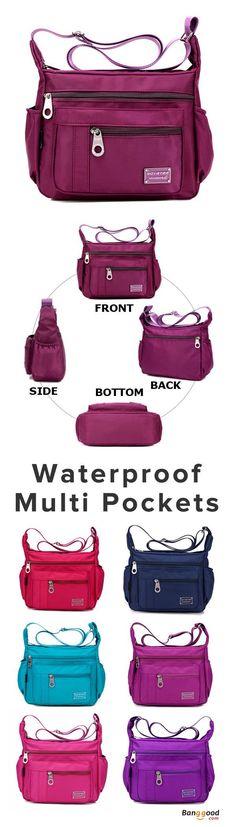 US$19.99+Free shipping.Women Bags, Waterproof Crossbody Bags, Casual Bags, Chest Bags, Multifunction Handbag, Backpack, Shoulder Bags. Waterproof, Large Capacity. Shop now~