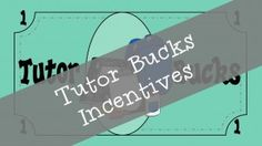 Do you have some students that lack motivation to be responsible or come with a good attitude to tutoring? I decided to make a money system called Tutor Bucks to give to my students when they are doing awesome.
