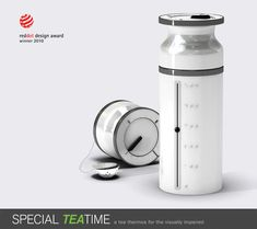 Special TeaTime - A Thermos Concept for Visually Impaired People