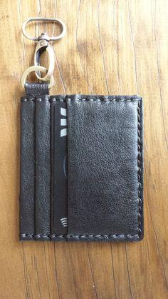 Minimalist Slim Wallet by Skinsew on Etsy