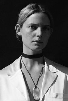SOPHIE BUHAI - LEATHER CHOKER  http://www.sophiebuhai.com/collections/jewelry/products/leather-choker