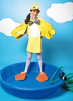 24 best parkers halloween duck costume images on pinterest duck duck costume made from duck brand duct tape let leisure arts halloween stick or solutioingenieria Gallery