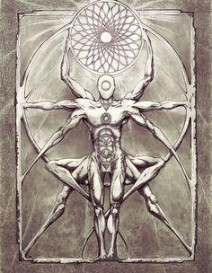 ideas tattoo mandala geometric symbols sacred geometry for 2019 Tatoo Art, Body Art Tattoos, Mandala Nature, Flower Mandala, Spiritual Tattoo, Image Mandala, Tattoo Geometrique, Tattoo Symbole, Sacred Geometry Tattoo