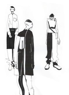 Sci-fi meets Céline: Minki Cheng presents his AW14 collection