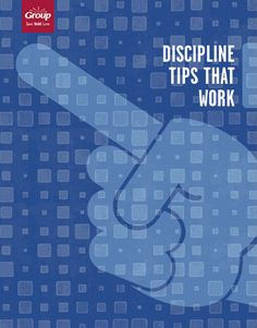Discipline tips that work - free how to guide from Group Publishing