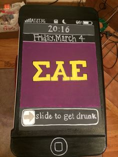 Fraternity cooler! #sae