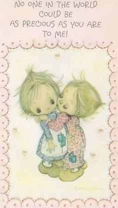 Sarah Kay, Joan Walsh, Clark Art, Hallmark Cards, Childhood Days, Holly Hobbie, Tatty Teddy, Bird Cards, Vintage Artwork