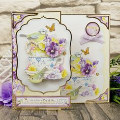 The Perfect Score, Hunkydory Crafts, Colorful Artwork, Little Books, Box Frames, Blank Cards, Pansies, Spring Time, Your Cards