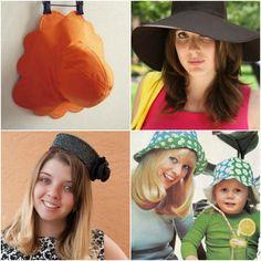 20 DIY et patrons de chapeaux d'été - Blog de Petit Citron Blog de Petit Citron