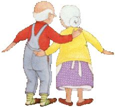 Шуточная песенка для бабушек и дедушек