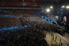 On Friday May 30th 2008 Emirates Stadium hosted its first major concert with the indomitable Bruce Springsteen and the E Street Band.