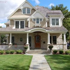 shingle style archway - Google Search
