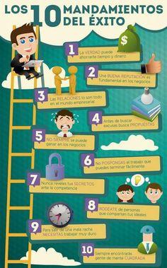 Algunos mandamientos de las personas exitosas