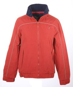 Lansdown Country Clothing Hedley Blouson Jacket - Red Chilli Made from a showerproof peach finished polyester fabric this colourful blouson From