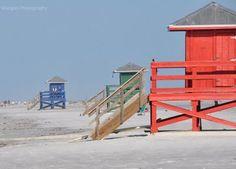 Siesta Key Lifeguard Stands