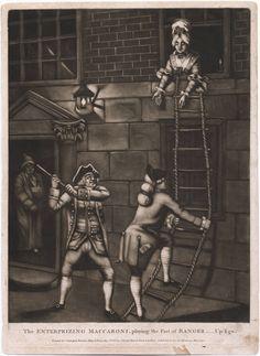 """The Enterprizing Macaroni"", 1772; LWL 772.05.30.01+"