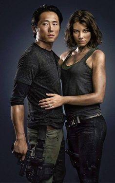 Glenn and Maggie together again!  Yay!