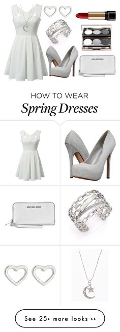 """Untitled #1219"" by forever-ur-sickest-hoe on Polyvore featuring Michael Kors, Call it SPRING, Marc by Marc Jacobs and Lancôme"