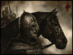 Ganbat Badamkhand - Jinetes germánicos o vikingos
