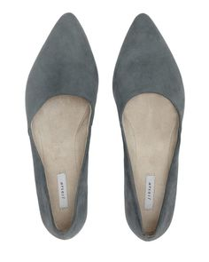 93353998327c Clara Pointed Flat | Jigsaw Suede Shoes, Leather Flats, Pump Shoes, Shoes  Heels
