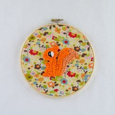 Your place to buy and sell all things handmade Crochet Wall Art, Embroidery Hoop Art, Squirrel, Coin Purse, Buy And Sell, Diy Crafts, Wallet, Knitting, Madness