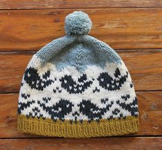 fly away hat by laura reinbach / in quince & co. lark