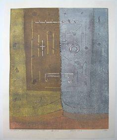 "Face No. 6, 1993, Hideo Hagiwara, ed. of 50, 22"" x 27 1/4"""