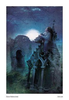 The Graveyard Book, Neil Gaiman The Graveyard Book, Literature Quotes, Gothic Halloween, Neil Gaiman, Illustration Art, Illustrations, Great Books, Wonders Of The World, Cover Art
