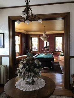 1920 - Tipton, IN - $299,900 - Old House Dreams Victorian Interiors, Victorian Decor, Victorian Homes, House Interiors, Vintage Decor, Sleeping Porch, Stone Cottages, Butterfly House, Old House Dreams