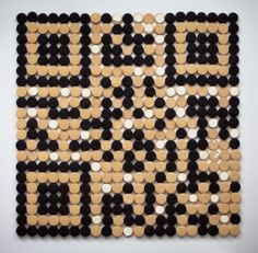 A functional QR code be built out of nothing but OREOs.