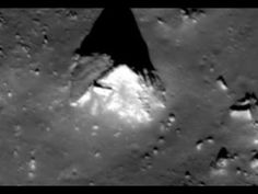 A Pyramid on the Moon: Rare Image of 'artificial structure' on the far side of the Moon | Ancient Code