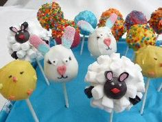Fun Easter Cake Pops