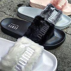 95fa7d4e1ebc16 Puma x Fenty Fur Sides  KortenStEiN Types Of Shoes
